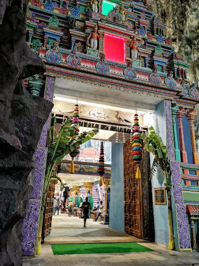 Batu Caves- Entrance to the main temple 2