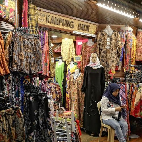 Malaysian batik at Central Market