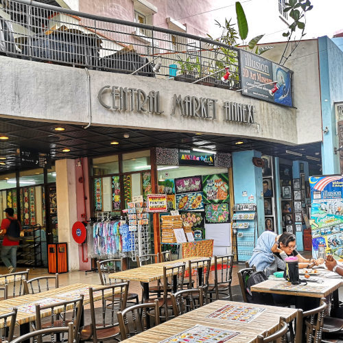 The Central Market Annexe Gallery in Kuala Lumpur