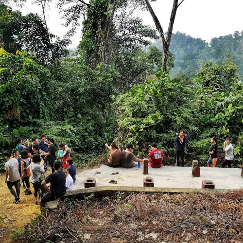 A vantage point at Bukit Gasing