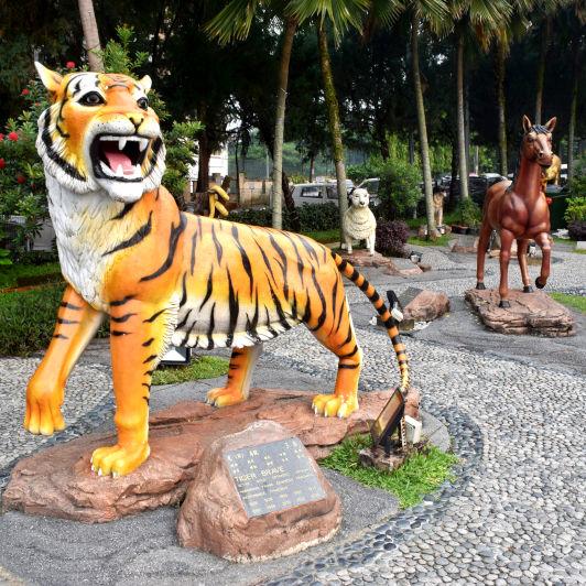 The 12 Zodiac Animals Garden
