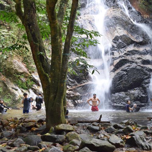 Kanching Waterfalls level 5