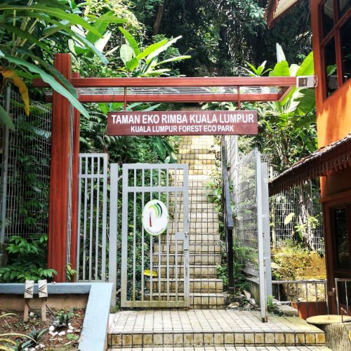 Japan Ampang entrance to KL Forest Eco Park
