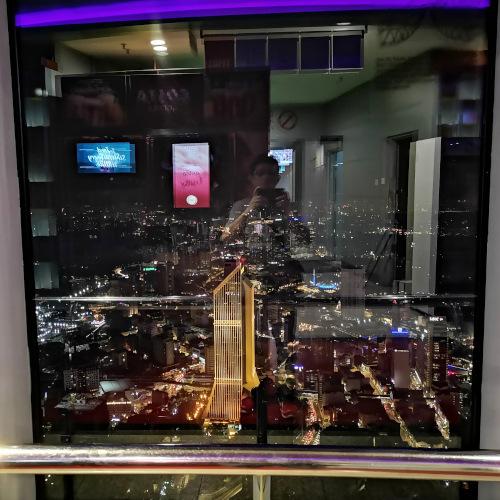 The observation deck of KL tower