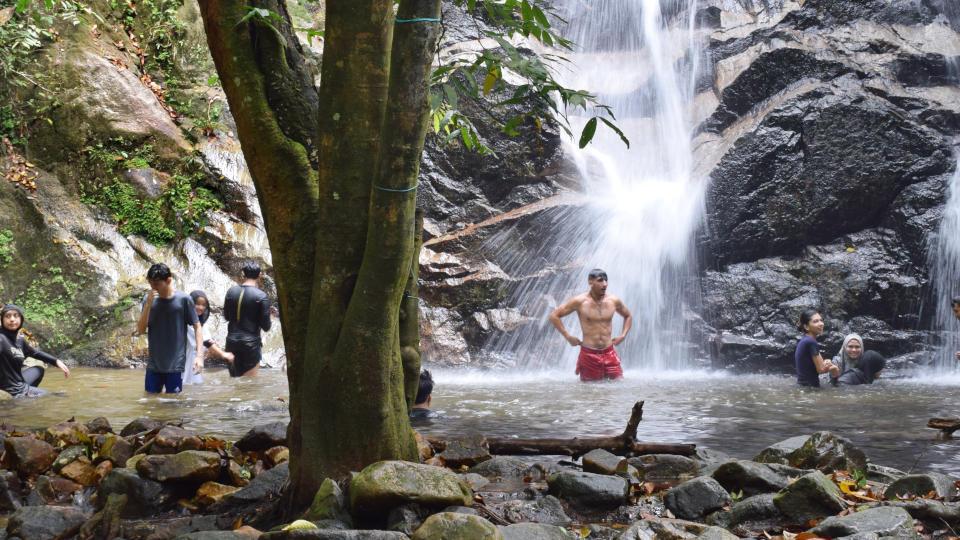 Kanching Waterfalls
