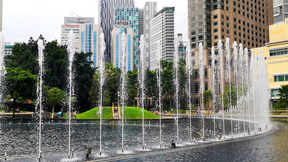 KLCC Park – Best recreational park in Kuala Lumpur