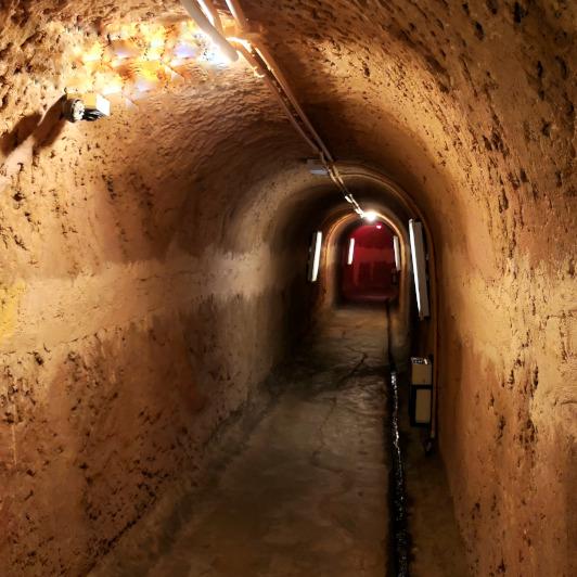 The underground tunnel Port Dickson