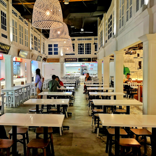nostalgic interior of Malaysia Boleh
