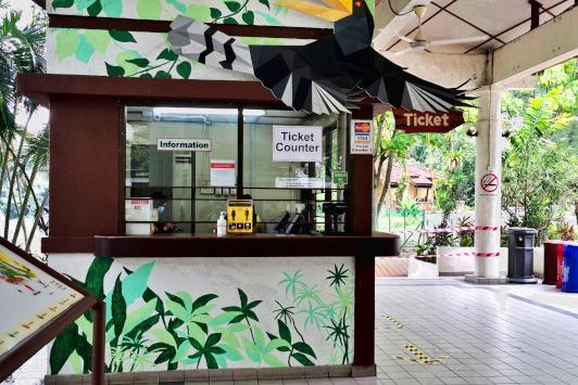 ticketing counter the kuala lumpur bird park