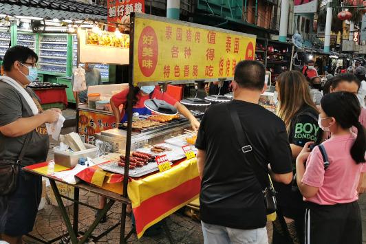 Petaling Street 2020 (10) taiwanese sausages