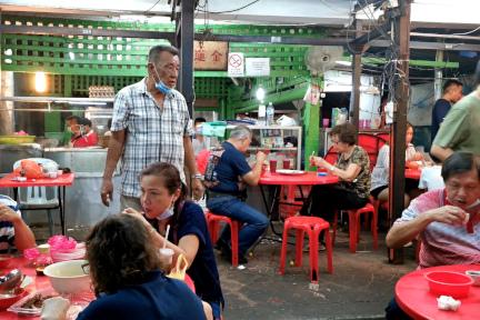Petaling street - kim lian kee