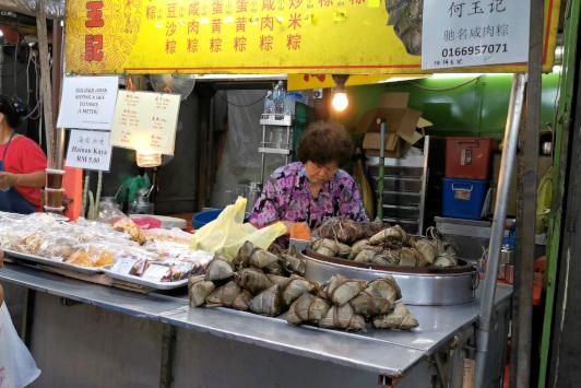 Petaling street - zongzi
