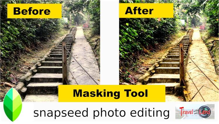 Snapseed photo editing