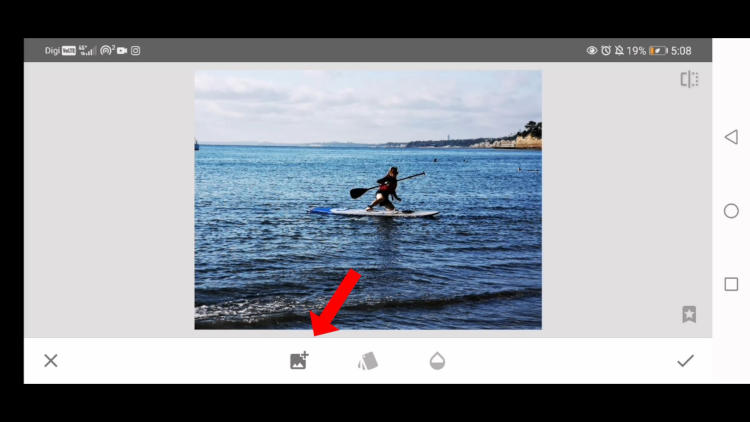 how to use doubled exposure in snapseed, remove objects