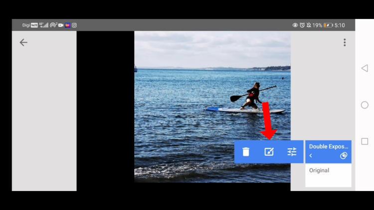 edit double exposure in snapseed,